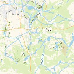 Spree Karte.Kanu Einsetzstellen Dahme Spree Rundtour Markische Umfahrt